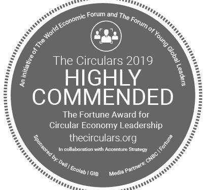 Detalhe para a indicação de Léa Gejer na Premiação The Circulars
