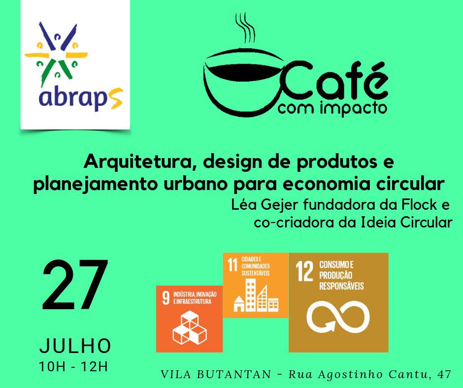 Evento organizado pela Abraps para falar de economia circular