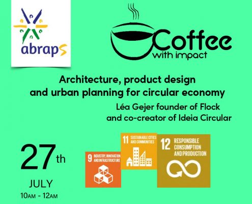 Event organized by Abraps to talk about circular economy.